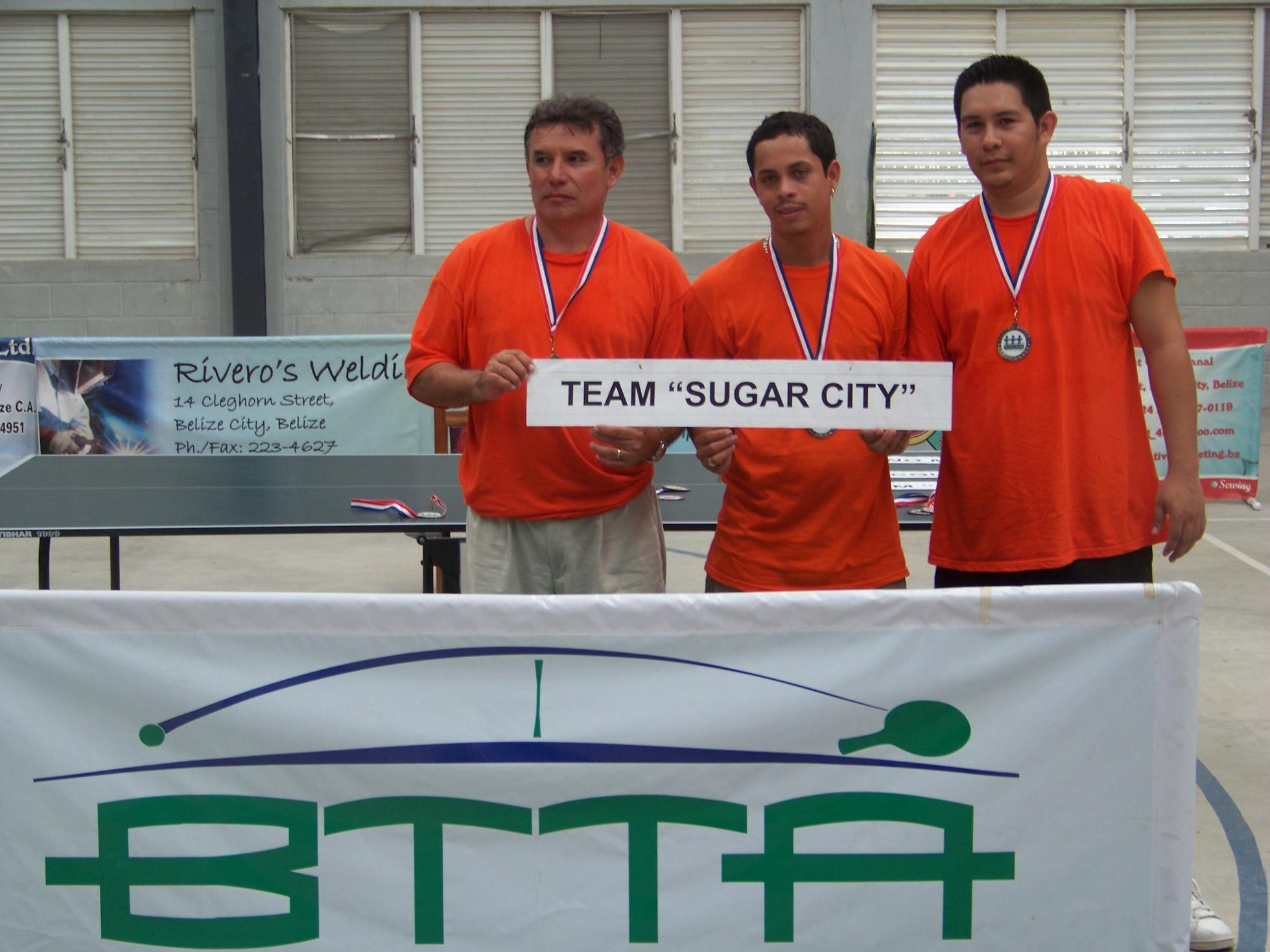 Team Suga City - 2nd Place - Runner Up